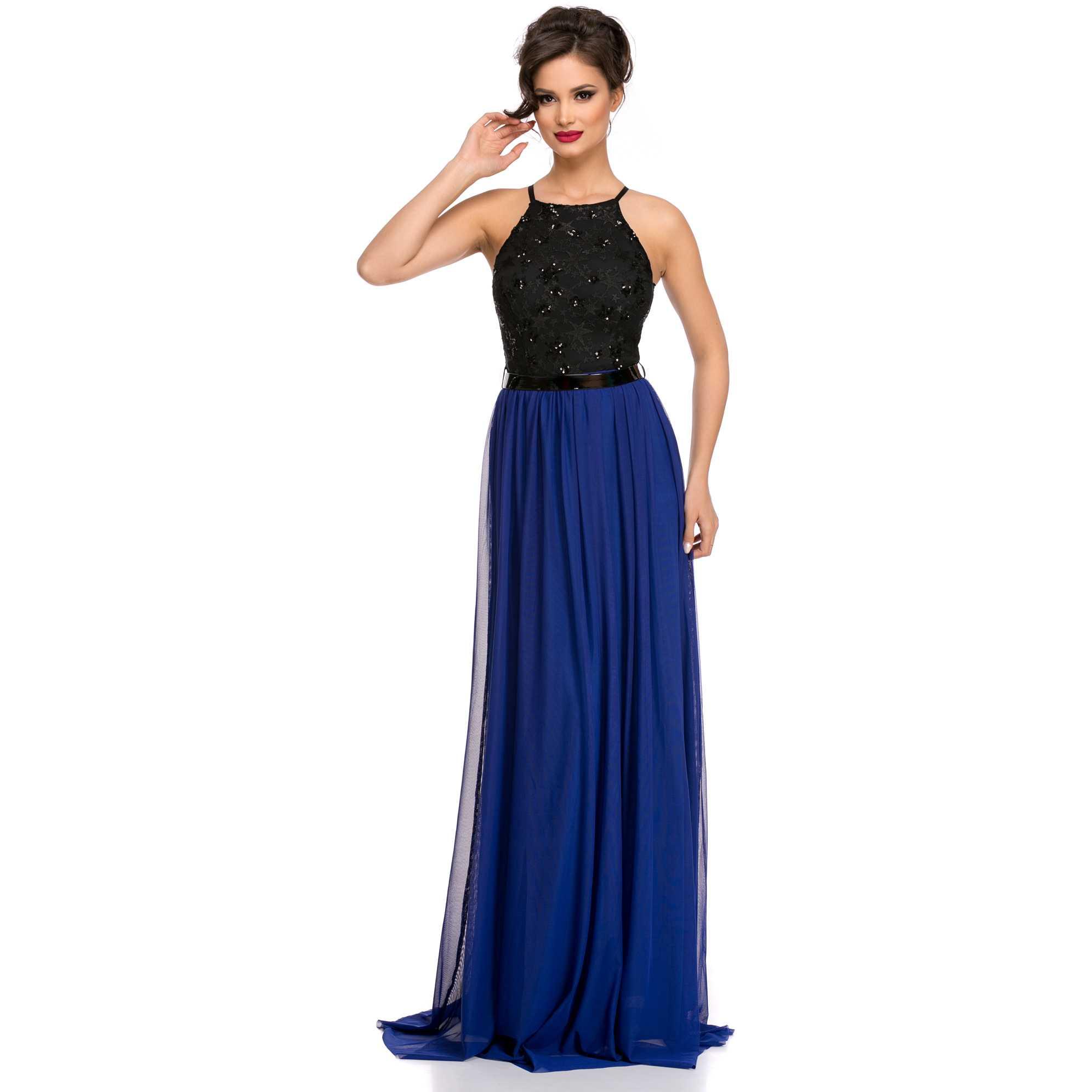 Rochie eleganta de revelion Celebrity Albastra