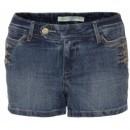 Pantaloni scurti din jeans - Navy TSZ0128GR