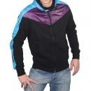 Hanorac barbati Puma Fabric Mix Zip Thru Sweat 55825401