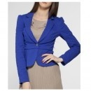 Fornarina - sacou Claudia - albastru- 4981-KZD030