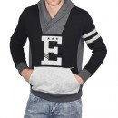 Bluza casual barbati Ecko Unlimited Deuces Blocked Shawl Collar IF12-33920