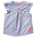 Bluza cu dungi si maneci cu volane fete de la 6 luni la 5 ani