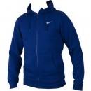 Hanorac barbati Nike Club FZ Hoody - Swoosh Longsleeve Shirt 611456-455