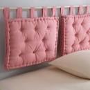 Perna capitonata pentru tablie de pat din bumbac Tertio