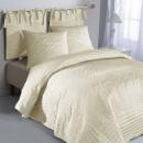 Pled + cuvertura de pat + cuvertura din tafta matlasata brodata
