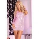 Rochie mini 25027 pink