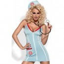 Costum de doctorita Doctor dress+stetoscop L/XL