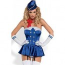 Costum de Stewardessa Corset S/M