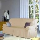Husa pentru fotolii sau canapea din bumbac uni sau cu dungi