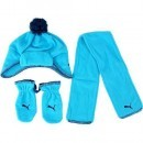 Set fes fular si manusi copii Puma Minicats Fleece 84328402