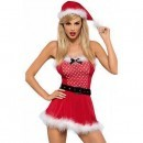 Costum de Craciunita Mrs. Claus dress S/M