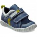 Pantofi copii piele naturala ECCO Mimic (albastru)