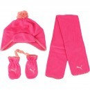 Set fes fular si manusi copii Puma Minicats Fleece 84328401