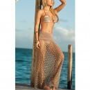 Fusta plaja Tan Fishnet