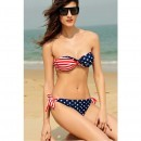 Costume baie Star Stripe