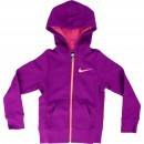 Hanorac copii Nike YA76 Graphic Brushed Fleece 645110-550