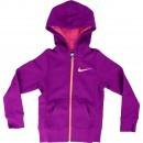 Hanorac copii Nike YA76 Graphic Brushed Fleece 645110-550