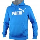 Hanorac barbati Puma ESS No1 Logo Hooded Sweat FL 83187010