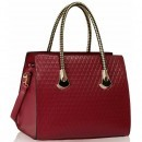 Geanta Burgundy Grab Shoulder