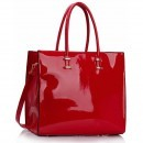 Geanta tote Red Patent Fashion