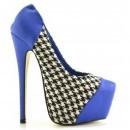 Pantofi Tango Albastri