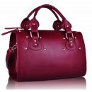 Geanta de mana Burgundy St Fashion