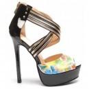 Sandale Bouche Negre