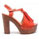 Sandale Fole Rosii
