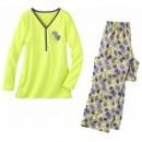 Pijama cu imprimeu pentru femei