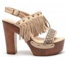 Sandale Verbona Bej