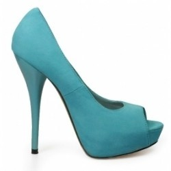 Pantofi Nicole8 platformy lt. albastru deschis 2365-STK