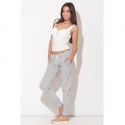 Pantaloni sport - Gri K095-STK