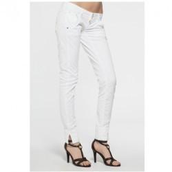 Fracomina - pantaloni - alb - 4981-SPD066