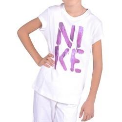 Tricou copii Nike Burnside SS Crew T-Shirt 451059-100