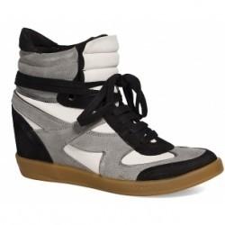 Bronx - pantofi sport - gri light - 4980-OBD102