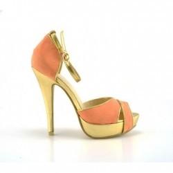 Sandale Cora Portocalii