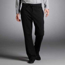 Pantaloni drepti din molton razuit pentru barbati