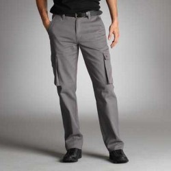 "Pantaloni stil ""grilaj"" uni pentru barbati"