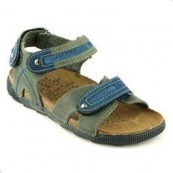 Sandale Geox bleumarin din piele naturala