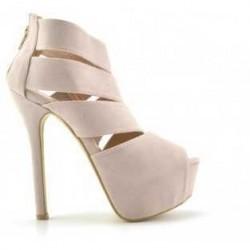 Sandale Timbar Bej