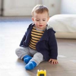 Body 2 in 1 cu maneca lunga pentru bebelusi ENFANT DO
