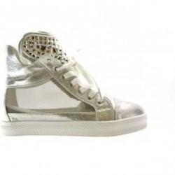 Pantofi Sport War Argintii