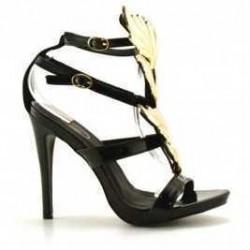 Sandale Just Negre Lacuit
