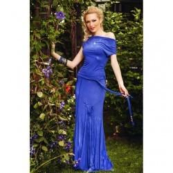 Costum Magnol Albastru