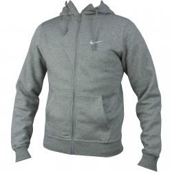 Hanorac barbati Nike Club FZ Hoody - Swoosh Longsleeve Shirt 611456-063
