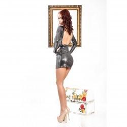 Rochie Naughty Gri
