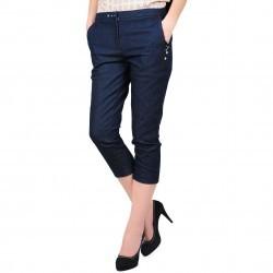 Pantaloni denim din bumbac model D1903