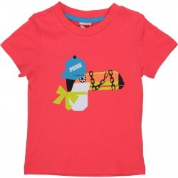 Tricou casual copii Puma School Tee 82804301
