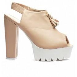 Sandale Asia Bej