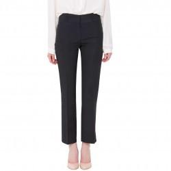 Pantaloni Modas bleumarin din bumbac model PAN-274